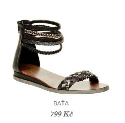 římské sandály bata