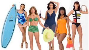 plavky pro každý typ postavy tělo článku
