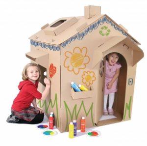 stany a domky pro děti - papírový
