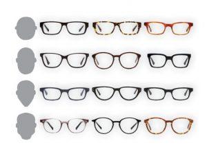 brýle jako módní doplněk - tvary oblečeje