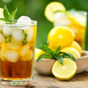 ledový čaj - citronový