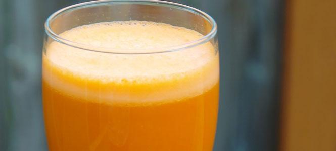 smoothie - pomeranč mango