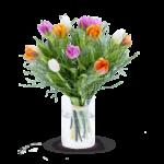 Květinová velikonoční výzdoba od Fleuropu